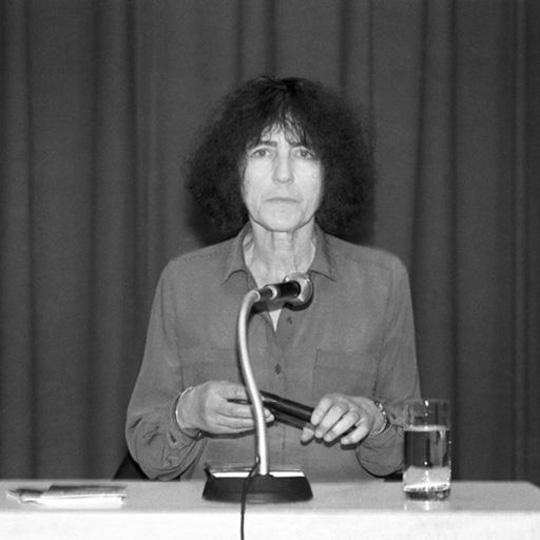 Gabriele Wohmann bei einer Lesung 08/1992 in Muenchen
